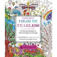 Race Point Publishing Books-Portable Color Me Fearless