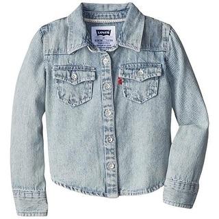 Levi's Girls Denim Shirt Pocket