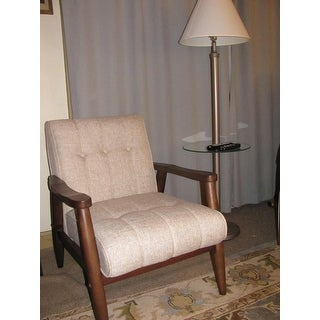 Shop Durango Mid Century Fabric Accent Chair Free