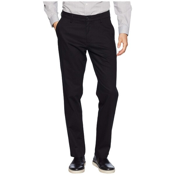 Dockers Mens Dress Pants Black Size 38x32 Khakis Athletic Fit Stretch. Opens flyout.