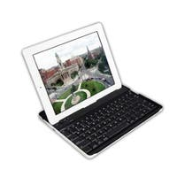 Cirago Aluminum Bluetooth Keyboard Case, IPA6000, for iPad