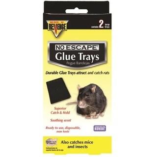Bonide 47030 Revenge Baited Glue Trays, 2/Pack