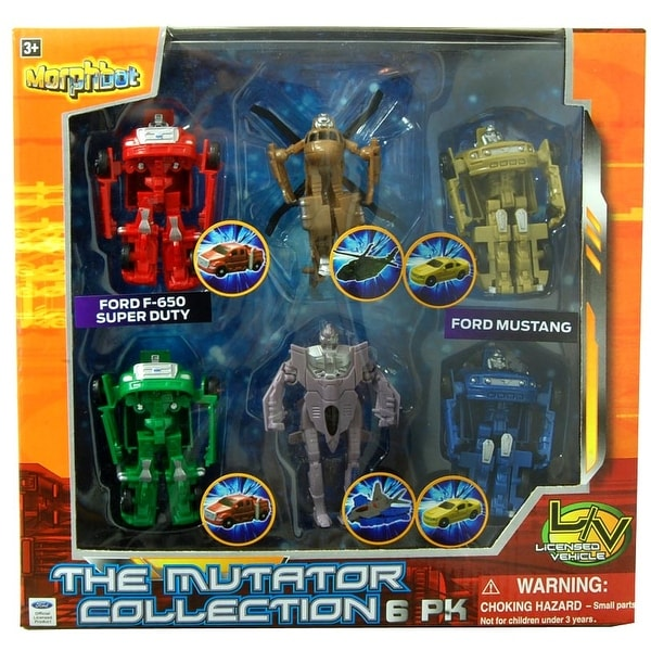 The Mutator Collection Figure 6-Pack - multi