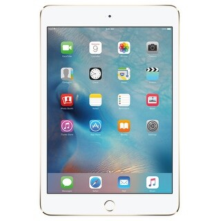 Apple iPad mini 4 128GB Wi-Fi Only Tablet - Gold