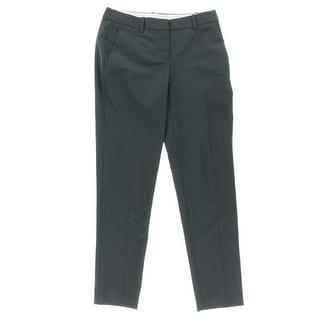 Theory Womens Testra 2B Wool Blend Slim Leg Trouser Pants