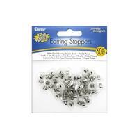 Darice JD Earring Stopper Bullet Clutch Nkl 60pc