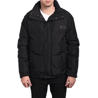 Valentino Men Hooded Puffed Jacket Black