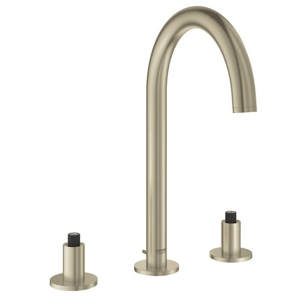 Grohe 20 069 3 Atrio 1.2 GPM Widespread M-Size Bathroom Faucet with Drain Assembly