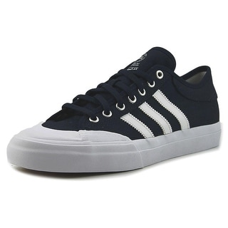 Adidas MatchCourt Men  Round Toe Canvas Blue Skate Shoe