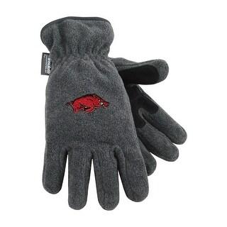 University of Arkansas Heavy-Weight Fleece Gloves