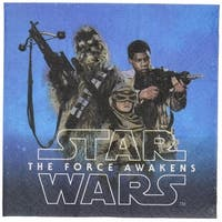 Star Wars: The Force Awakens Beverage Napkins 16ct - Multi