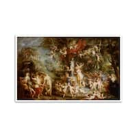 The Feast of Venus-Peter Paul Rubens-Most Expensive Paintings-24x15 Poster