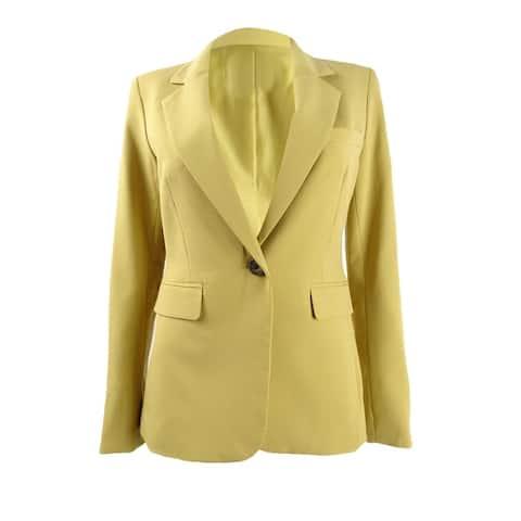 Bar III Women's One-Button Blazer