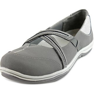 Easy Street Eva Women Round Toe Leather Mary Janes