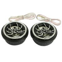 Unique Bargains Auto Car Spider Pattern Audio Loud Speaker Dome Tweeters 150 Watts 2 Pcs