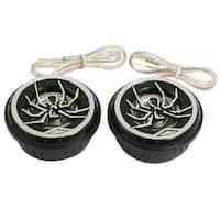 Unique Bargains Auto Car Spider Pattern Audio Loud Speaker Dome Tweeters 150 Watts 2 Pcs