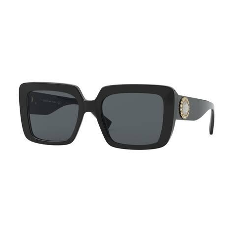 Versase VE4384BF GB1/87 54 Black Woman Square Sunglasses