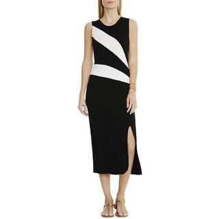 Vince Camuto Womens Tank Dress Colorblock Sleeveless