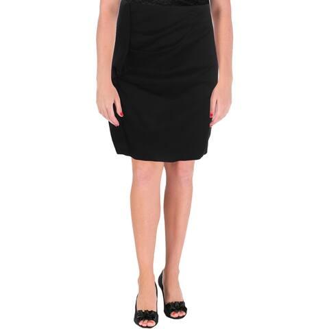 Carven Womens Mini Skirt Solid Ruffled - 36