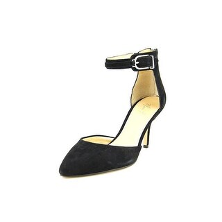 Marc Fisher Hebe Women Pointed Toe Suede Heels