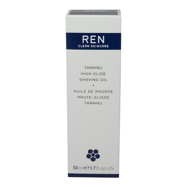 REN Skincare Tamanu High Glide Shaving Oil-1.69 Oz