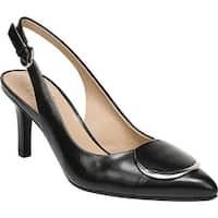 Naturalizer Women's Nora Slingback Pump Black Leather