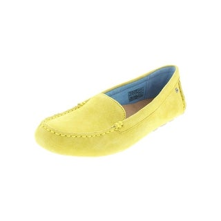 Ugg Womens Milana Loafers Leather Stitched - 7 medium (b,m)