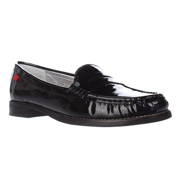 Marc Joseph East Village Casual Loafers, Black Patent
