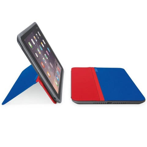 Logitech AnyAngle Protective Case & Stand for iPad Air 2 - Blue/Red