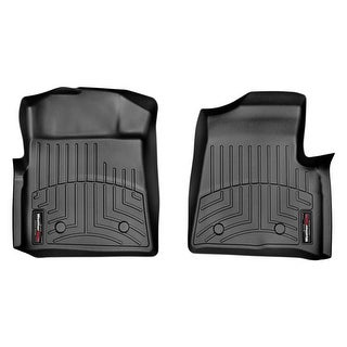 WeatherTech 446131 Black Front FloorLiner: Ford F-150 2009-14,