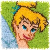 "Tinkerbell - Disney Latch Hook Kit 12""X12"""