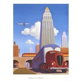 ''Rush Hour'' by Robert LaDuke Transportation Art Print (33 x 25 in.)