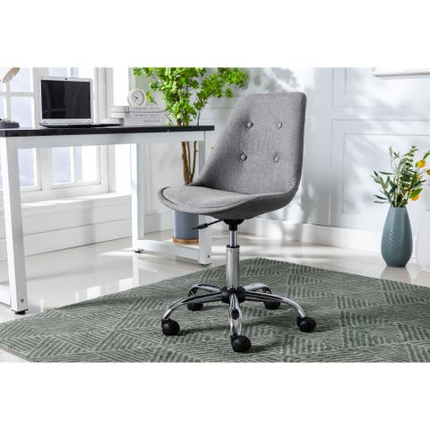 Porthos Swiveling Upholstered Home Office Chair