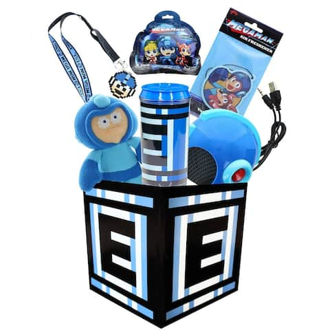 Mega Man Collection LookSee Box Includes 6 Mega Man Video Game Collectibles - Multi