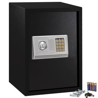 Costway Home Office Hotel Large Digital Electronic Keypad Lock Security Gun Safe Box