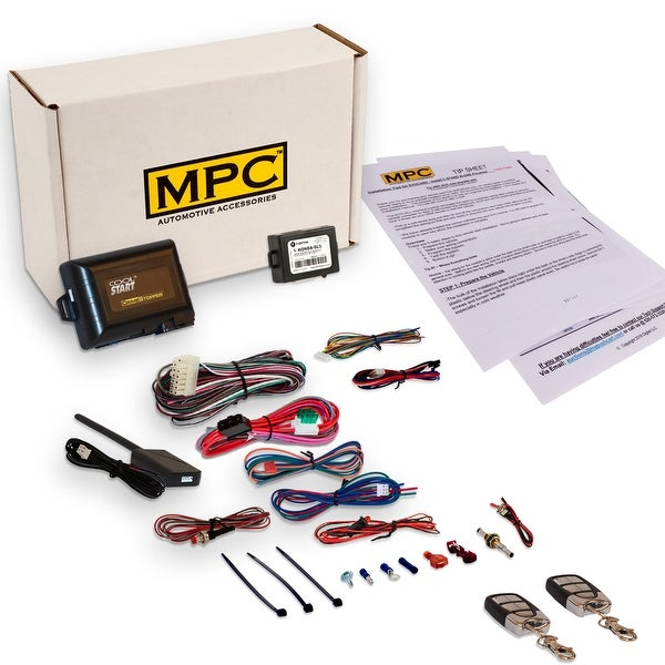 Shop Complete Remote Start Kit With Keyless Entry For 2011