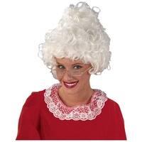 Mrs. Santa Wig Adult Costume Accessory