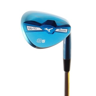 New Mizuno S5 Blue Ion Forged Wedge 56.10* Dynamic Gold Steel RH