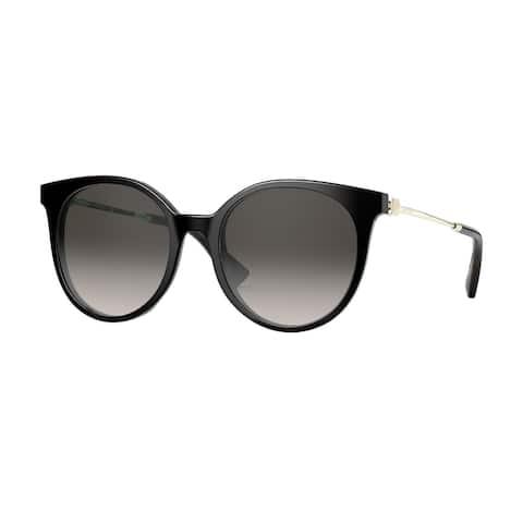 Valentino VA4069 50018G 53 Black Woman Round Sunglasses