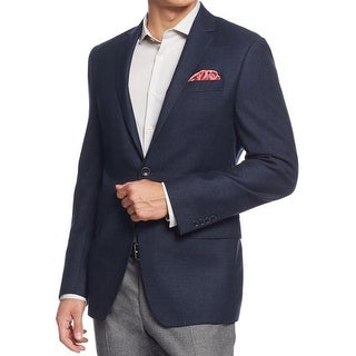 DKNY Mens Sportcoat Pattern Non-Vented