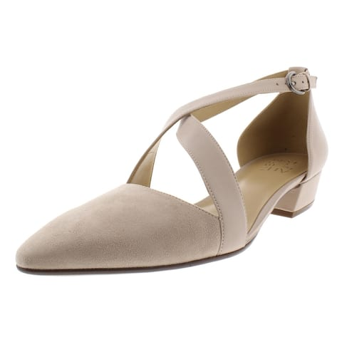 Naturalizer Womens Blakely Dress Pumps Suede Heels