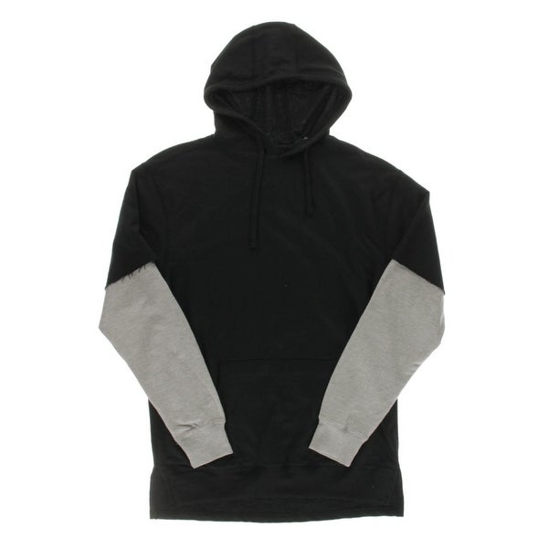 06b0d5c3e2124 Shop Seven Souls Mens Hoodie French Terry Colorblock - Free Shipping ...