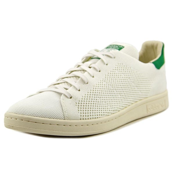 Adidas Stan Smith Prime Knit Men Round Toe Synthetic White Sneakers