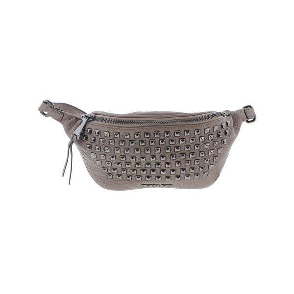 2d35c30fb7276e Shop Michael Kors Womens Rhea Fanny Pack Studded Adjustable - small ...