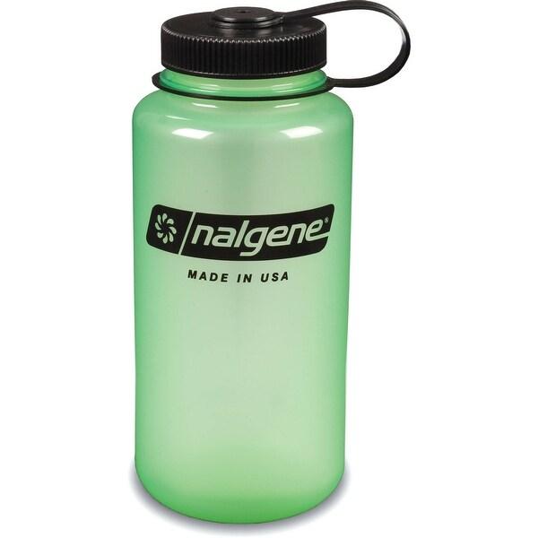 Nalgene Tritan 32-Ounce Wide Mouth Bottle, Glow Green