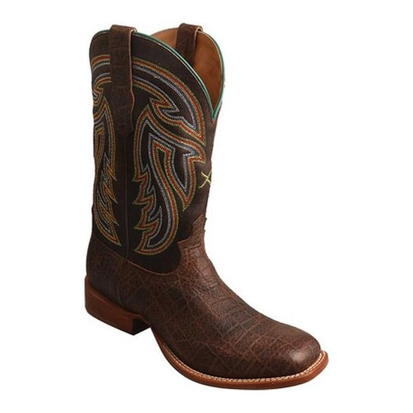 4683d18ff90 Shop Twisted X Boots Men's MRAL016 Rancher Cowboy Boot Chocolate ...