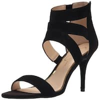 Jessica Simpson Womens Marlen Leather Open Toe Casual Ankle Strap Sandals