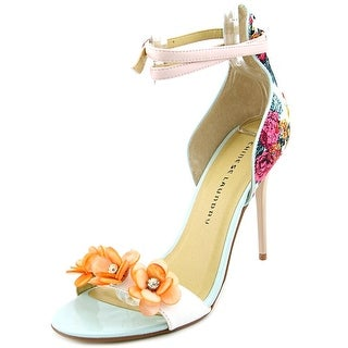 Chinese Laundry Lily Women Open Toe Canvas Multi Color Sandals