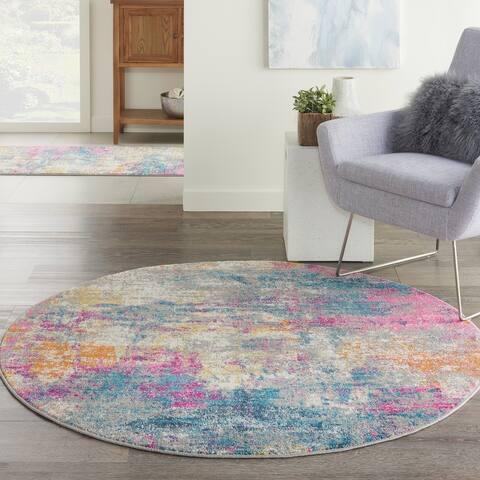 Nourison Passion Abstract Multicolor Area Rug