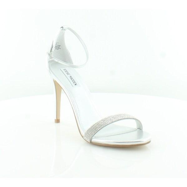 bc969f0b47f Shop Steve Madden STECY Women s Heels Silver - 9.5 - Free Shipping ...